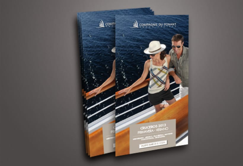 Cuadrípticos Ponant Cruises 3