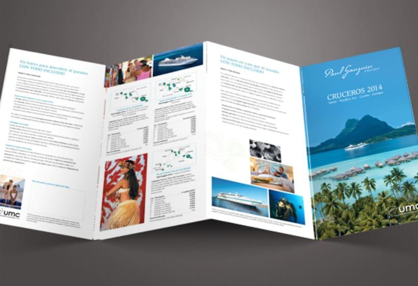 Cuadrípticos Paul Gauguin Cruises 2