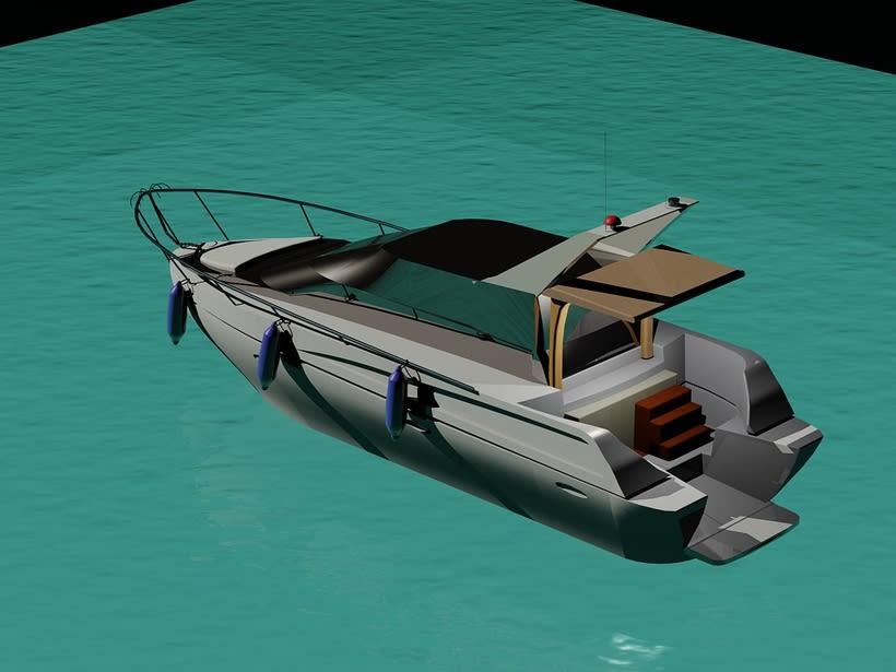 Yate 3D con Autocad (2014) 2