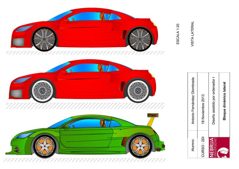 BMW D Con AutoCAD Domestika - Bmw 2d