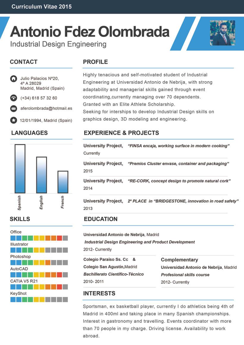 Curriculum Vitae -1