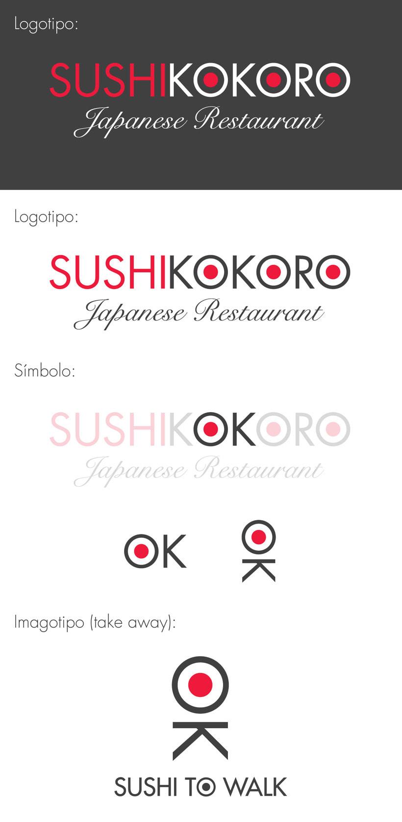 Visual Identity - ShushiKokoro 1
