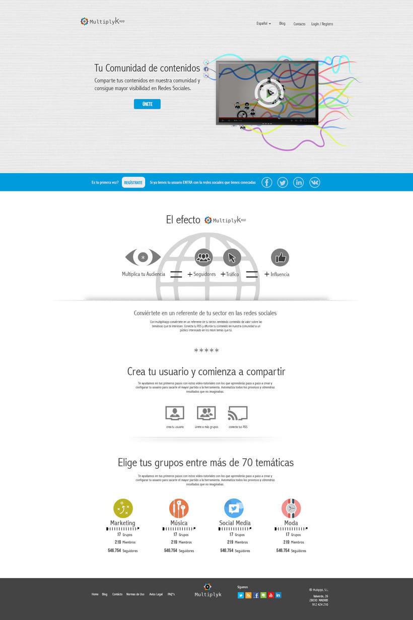 Diseño Web. Multiplykapp 0