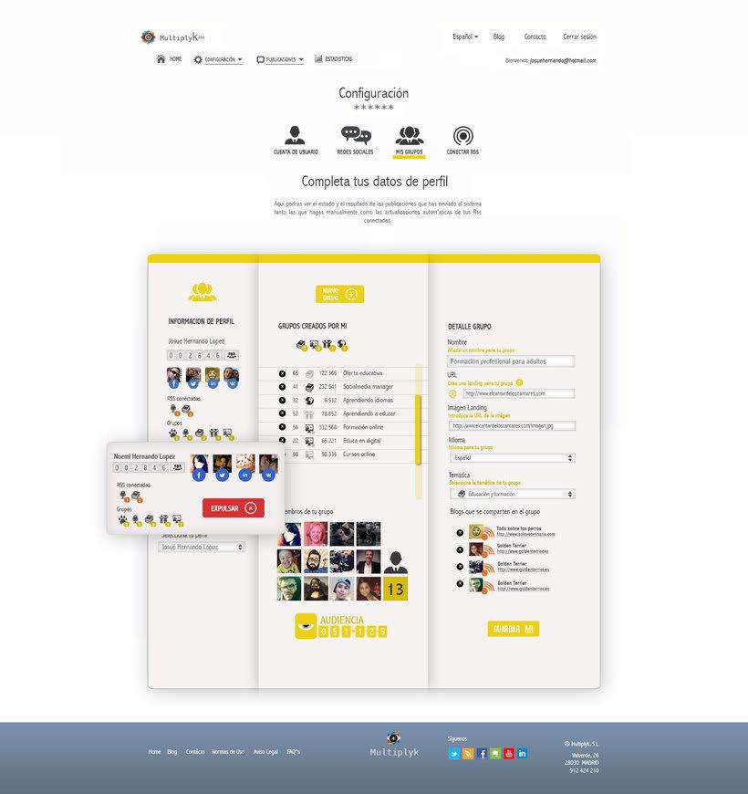Diseño Web. Multiplykapp 2