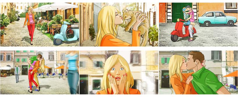 Storyboard publicidad 16