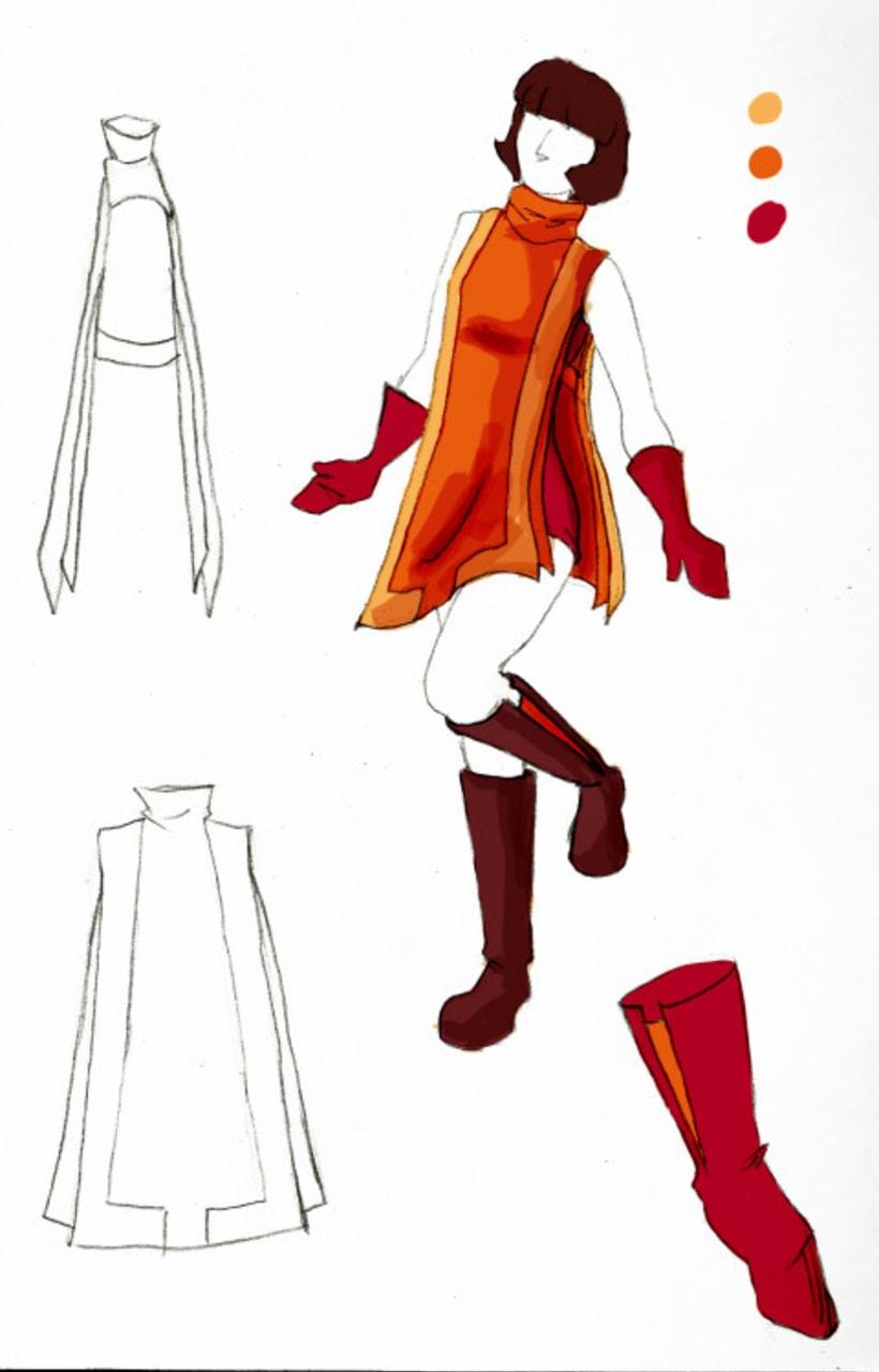 Diseño de vestuario 0