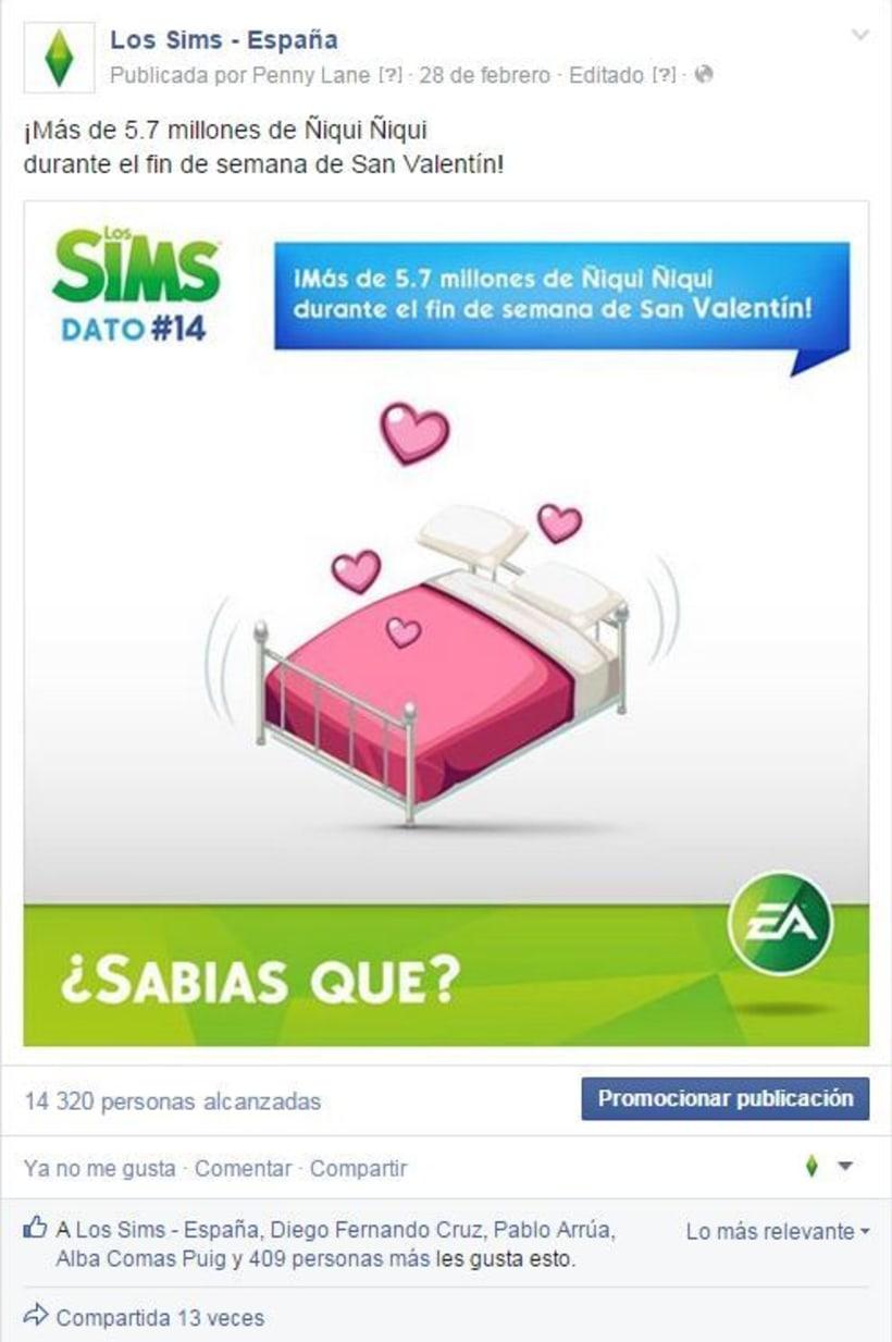 Infografias por el 15 aniversario de Los Sims -1