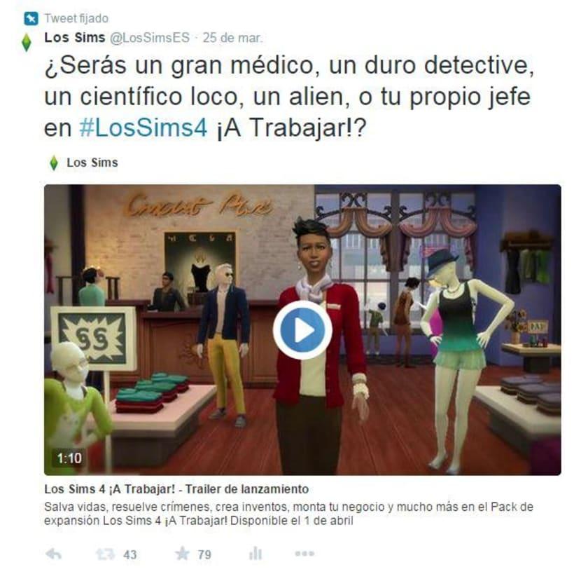 Campaña viral primera expansión Los Sims 4 -1