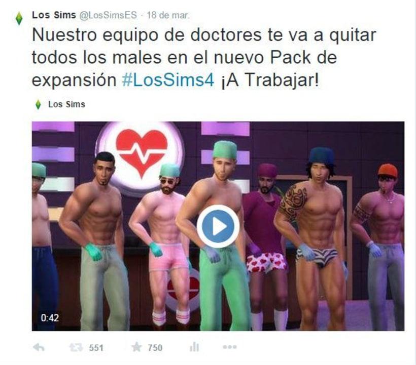 Campaña viral primera expansión Los Sims 4 0