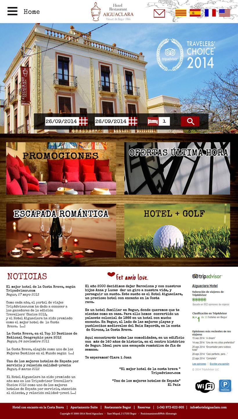 diseño página web inicio 0