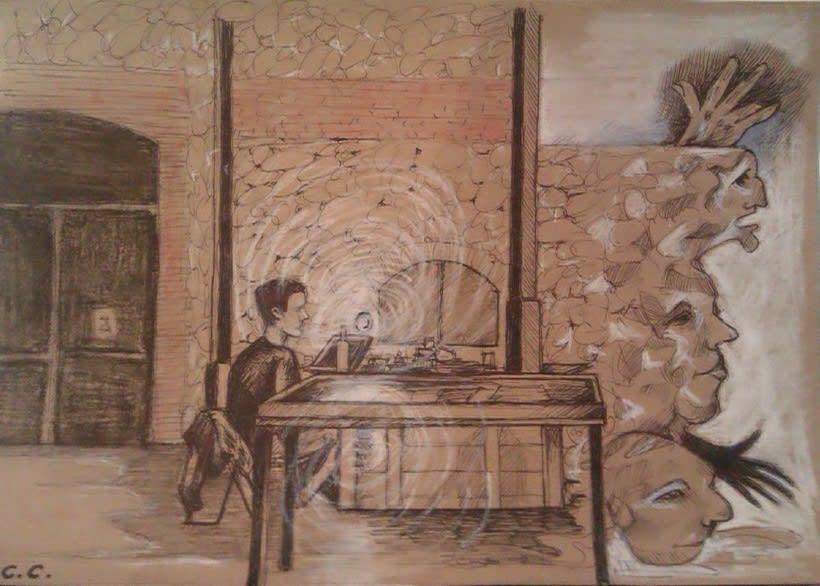 Dibujos en el Ranchito! Matadero Nave 16 0