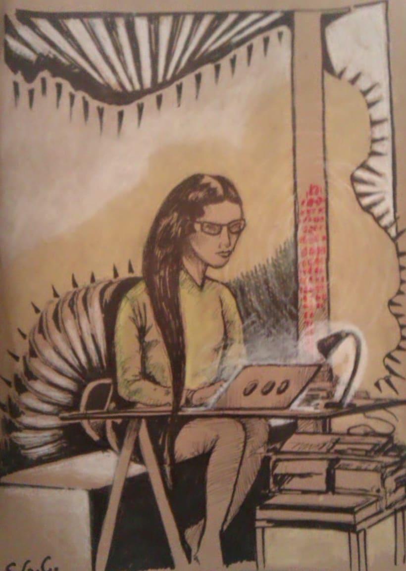 Dibujos en el Ranchito! Matadero Nave 16 3