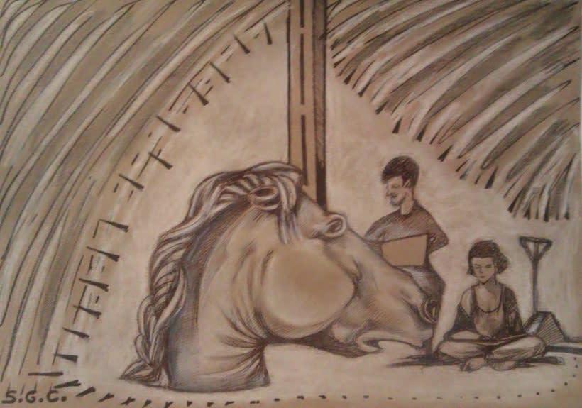 Dibujos en el Ranchito! Matadero Nave 16 4