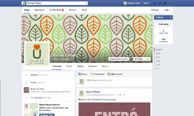 Uzume. Facebook -1
