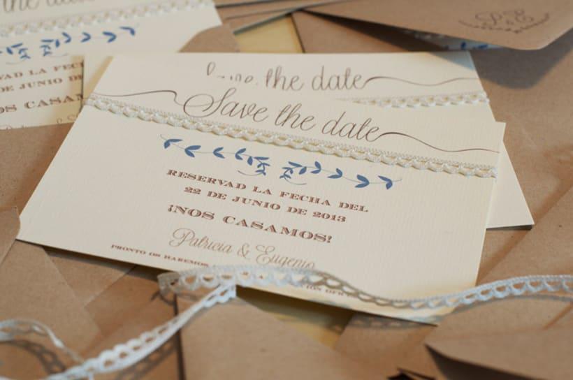 Invitación boda Patricia&Eugenio  1