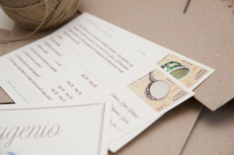 Invitación boda Patricia&Eugenio  8