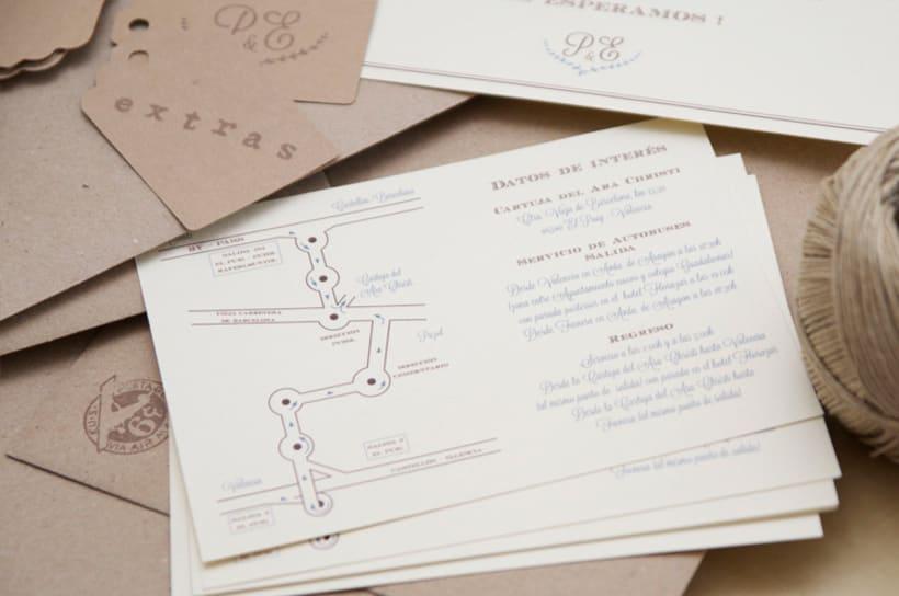 Invitación boda Patricia&Eugenio  9