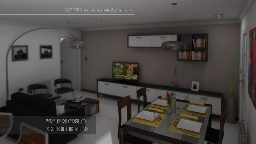 dise o interior en un espacio peque o cocina comedor y