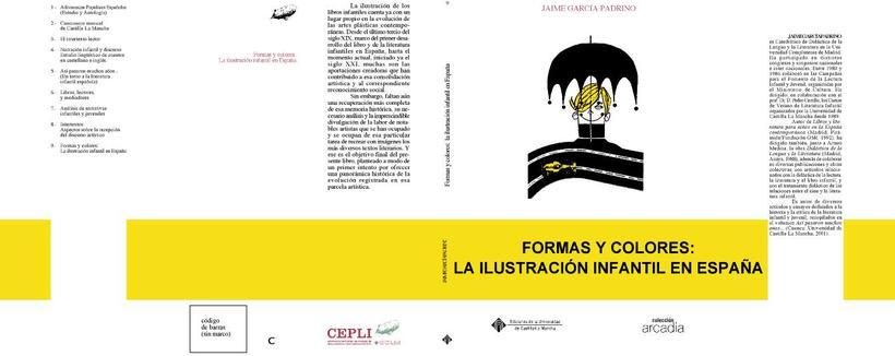 Diseño e ilustración de portadas de libros. C.I.D.I (Centro de Investigación de la Imagen),  servicio publicaciones UCLM. 0
