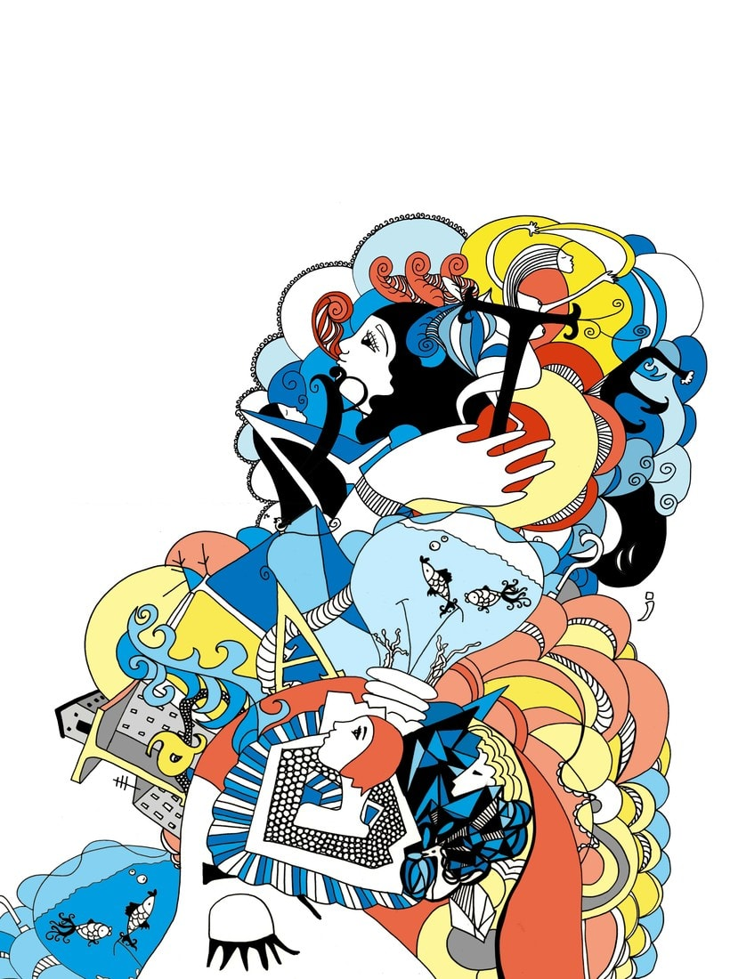 Nuevo proyecto ilustración para la revista de Creactiva -1