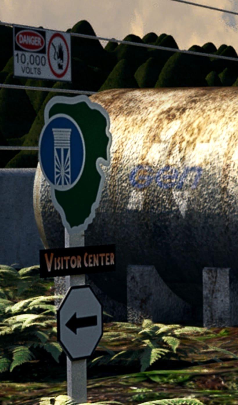 Gyrosphere (Jurassic World project) 5