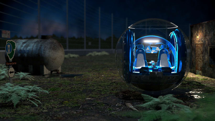 Gyrosphere (Jurassic World project) 2