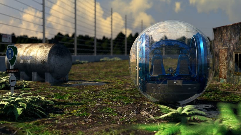Gyrosphere (Jurassic World project) 1