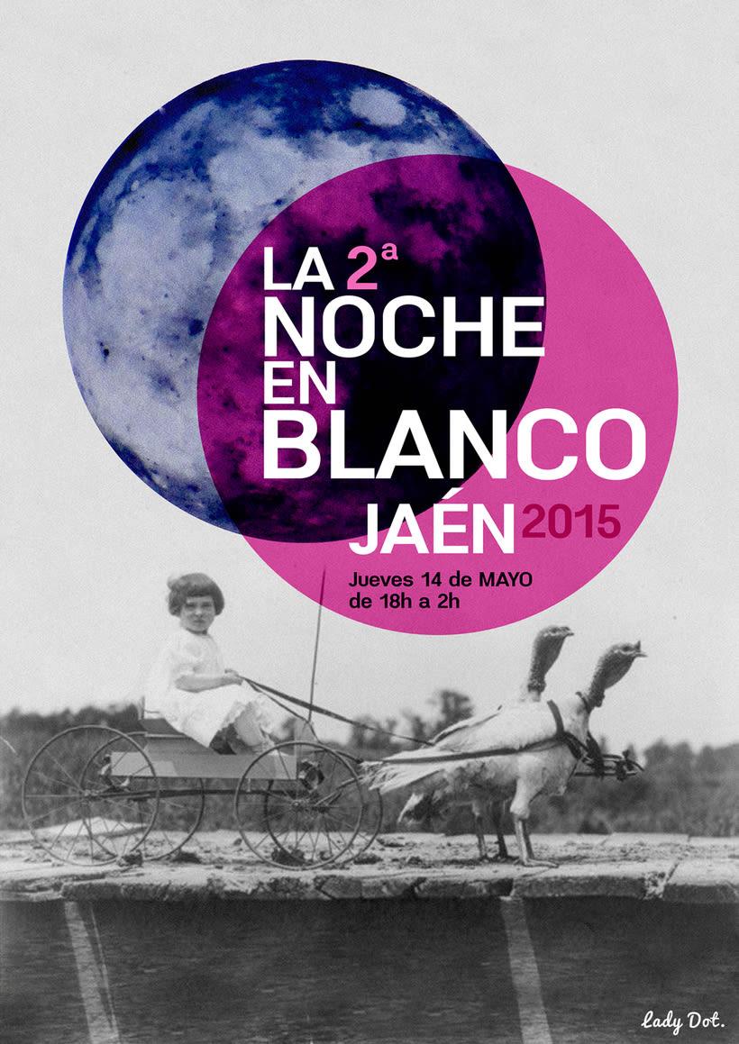 II Noche en Blanco Jaen 2015