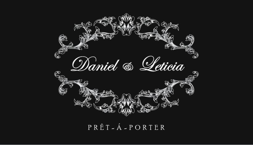 Imágen corporativa Daniel &Leticia 0
