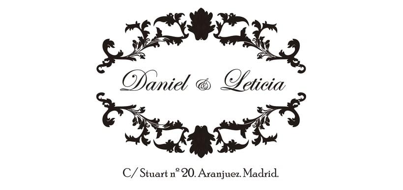 Imágen corporativa Daniel &Leticia 1