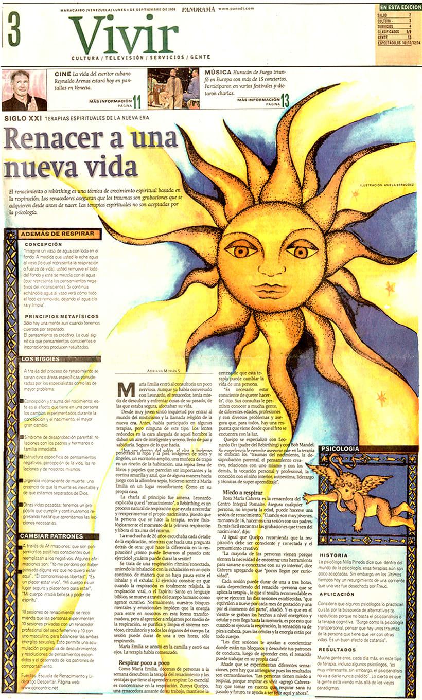 Maquetación DIARIO PANORAMA 2000 0