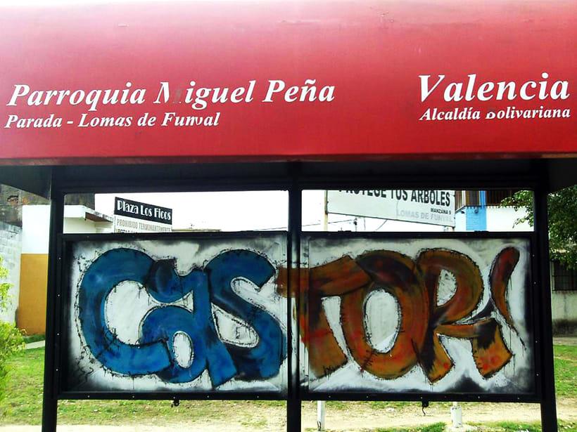 GRAFFITIS DE AYER Y HOY!!  1