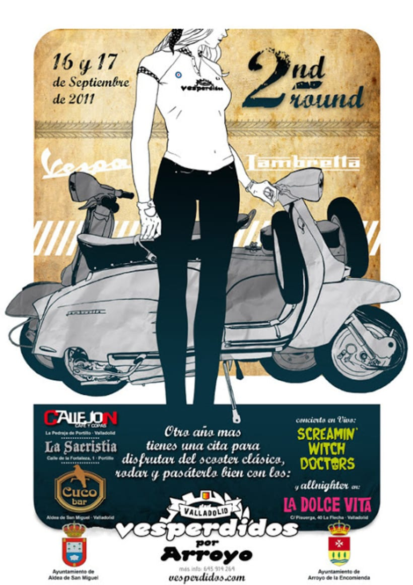 Carteles Scooter 2