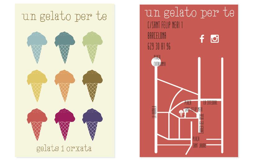 Un gelato per te.  Helados. Creps. Horchata. 3
