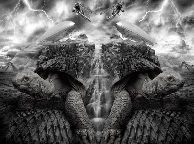 Design of turtle (art digital) 0