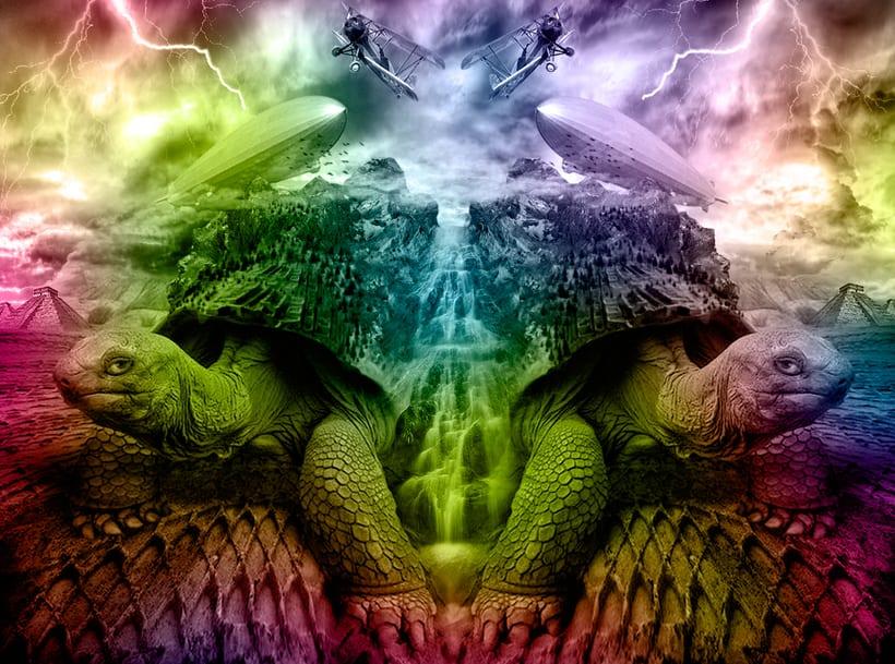 Design of turtle (art digital) 1
