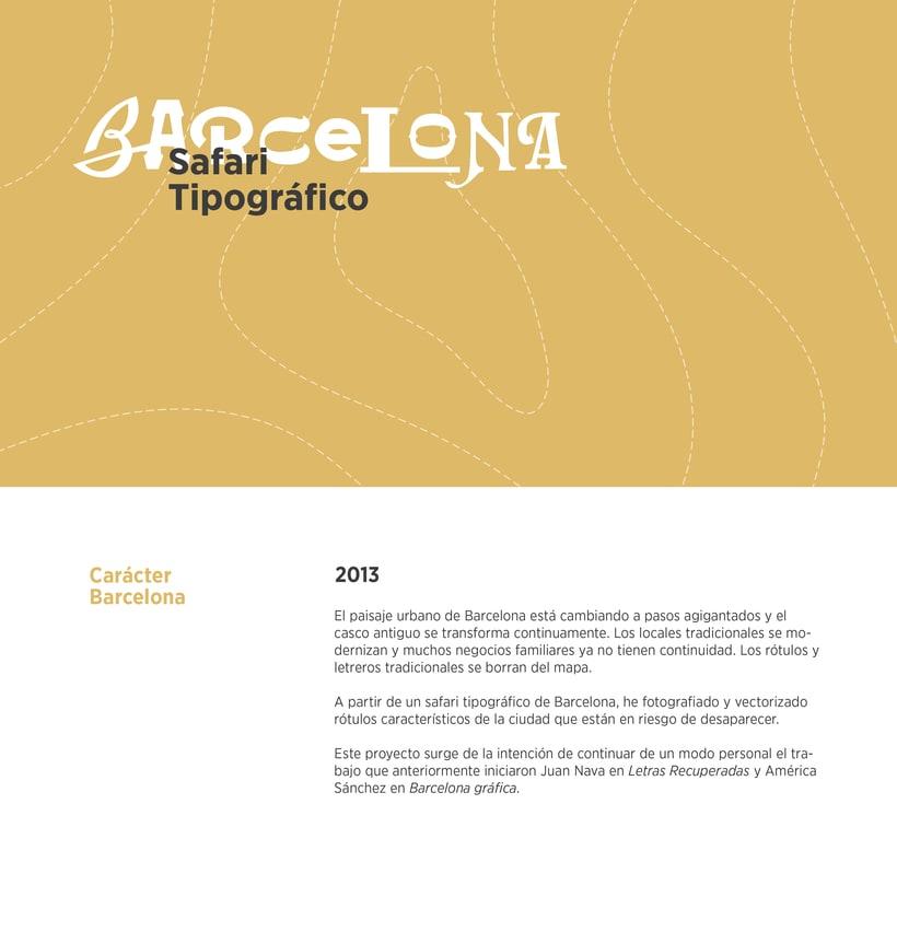 Safari Tipográfico BCN 0