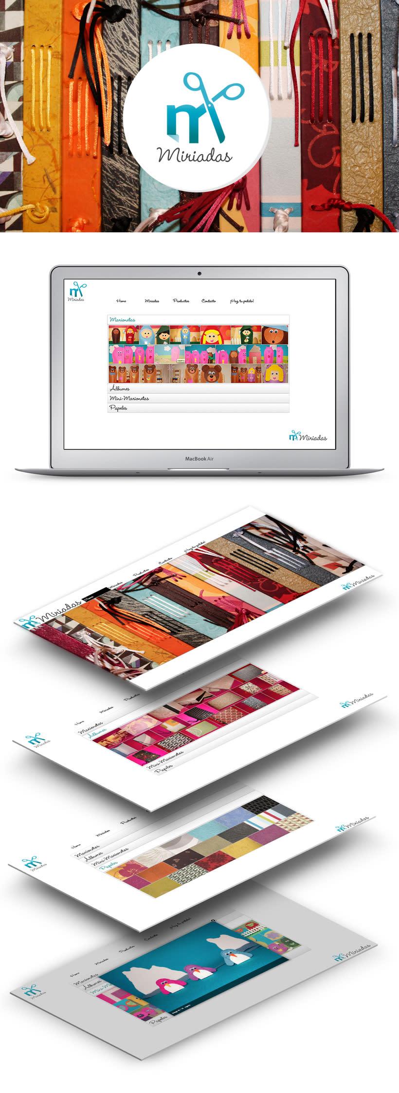 Miriadas, proyecto web. 0