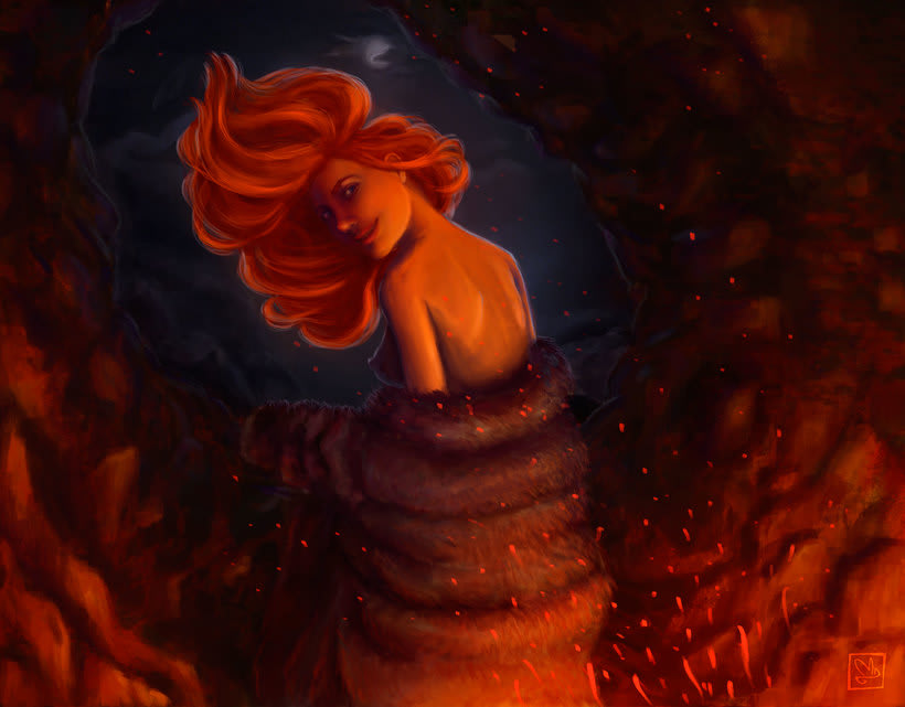 Kissed by fire -1