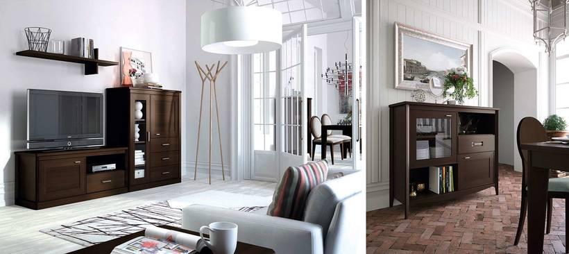 Tus muebles de sal n en madera maciza domestika for Muebles salon madera maciza