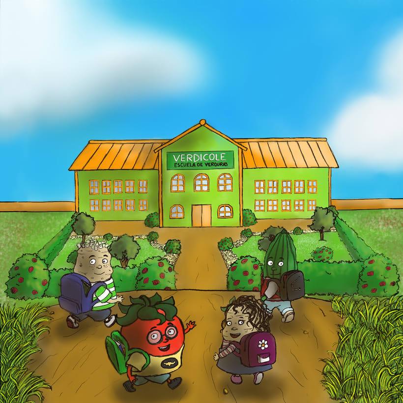 Verdicole escuela de verduras 0