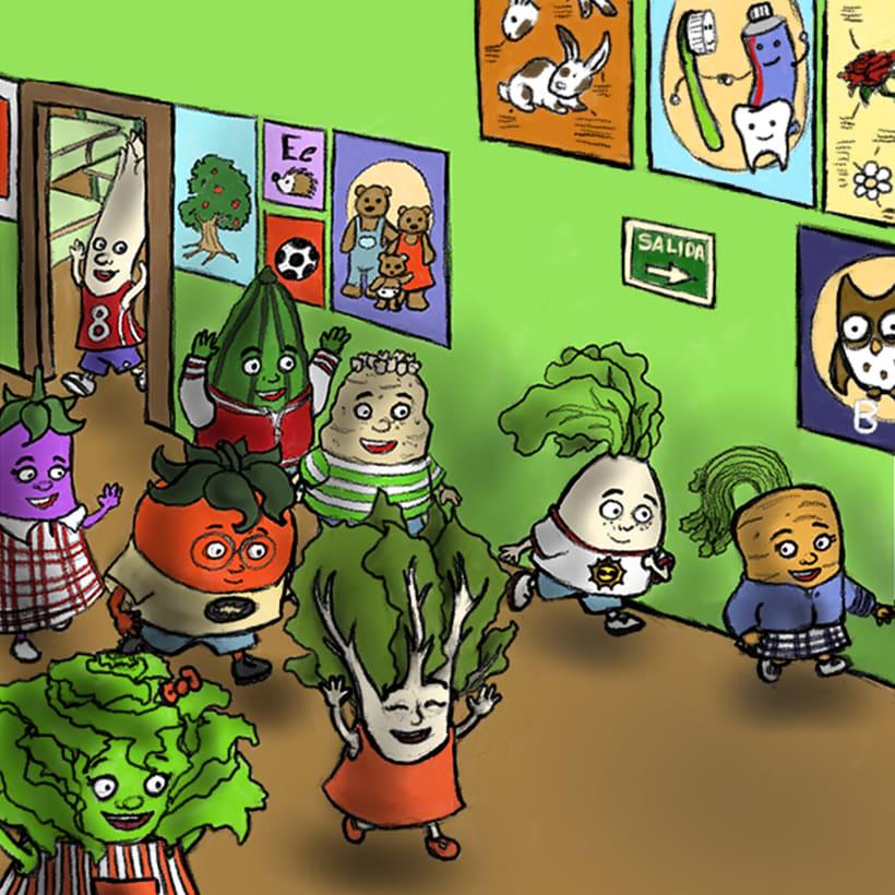 Verdicole escuela de verduras 1