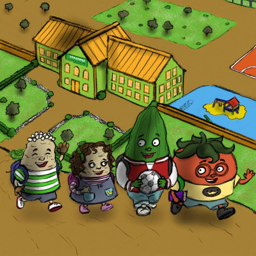 Verdicole escuela de verduras 2