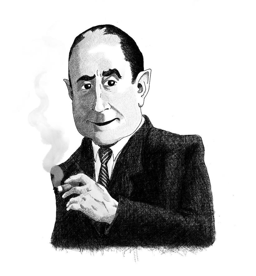Caricaturas para compañía de Teatro -1
