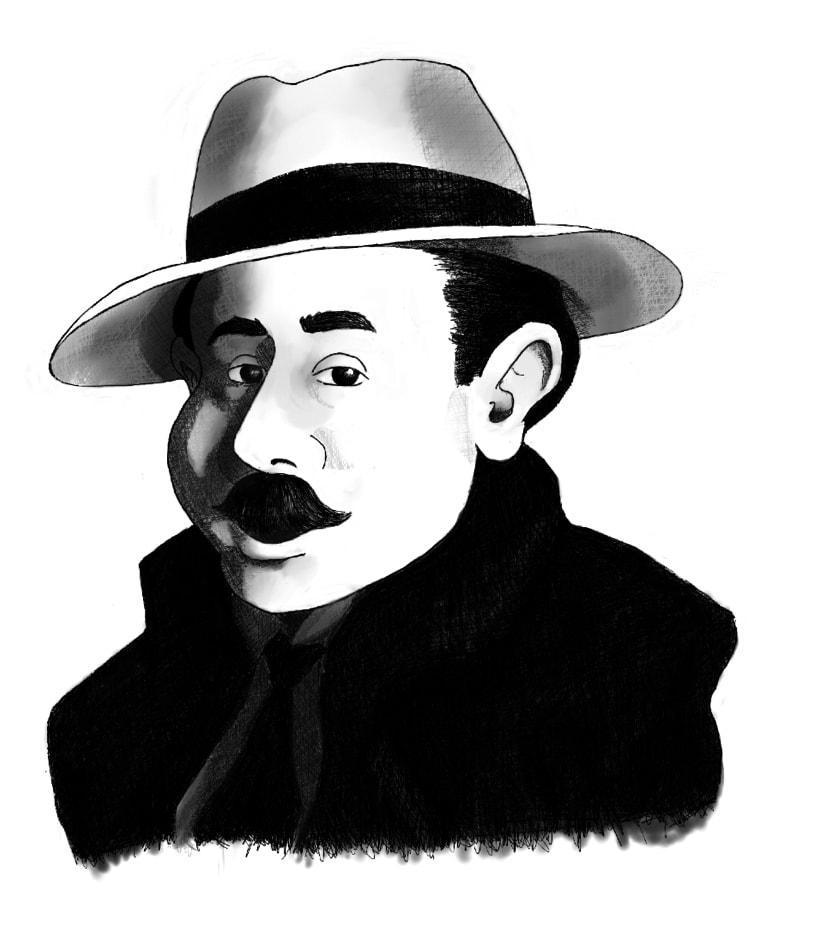 Caricaturas para compañía de Teatro 0