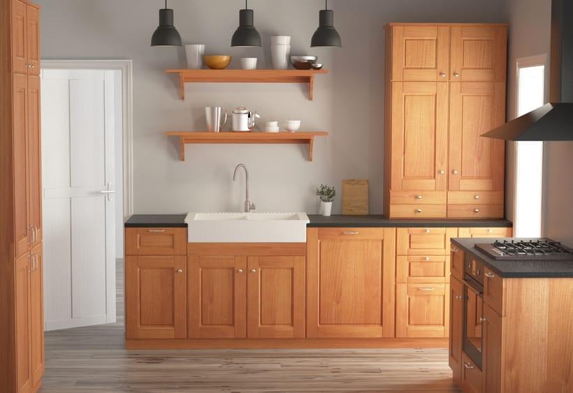 Cocina ikea domestika for Ikea diseno cocinas 3d