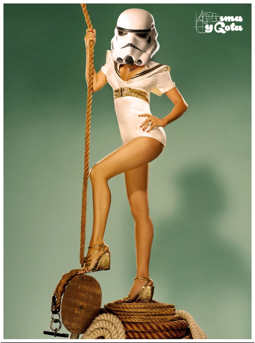 Pin Up Stormtrooper 0