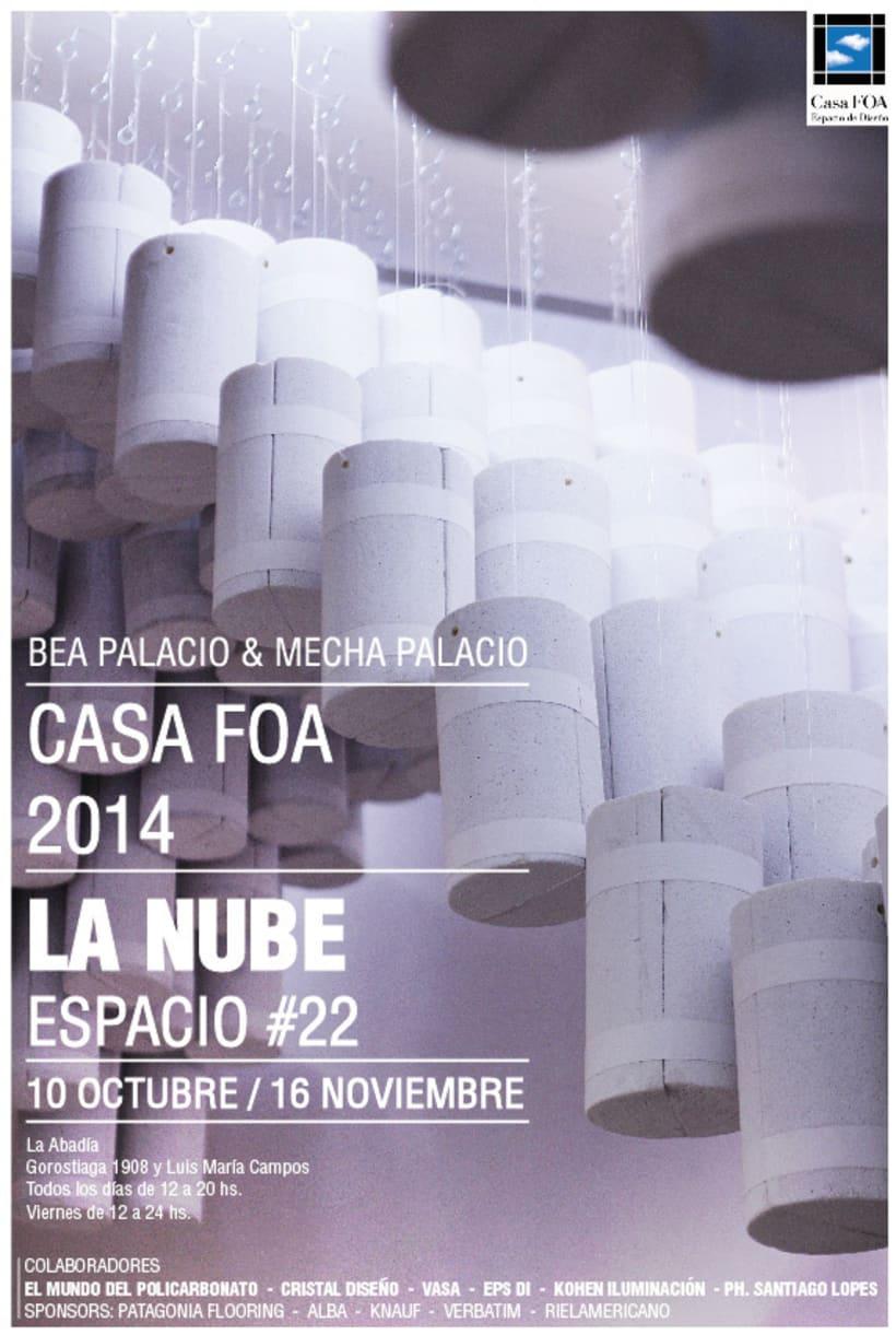 La Nube . Instalación . CasaFOA 2014 0