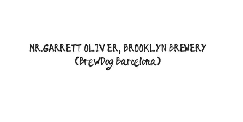 "Brooklyn Brewery ""Mr.Garrett Oliver Bcn Tour"" 0"