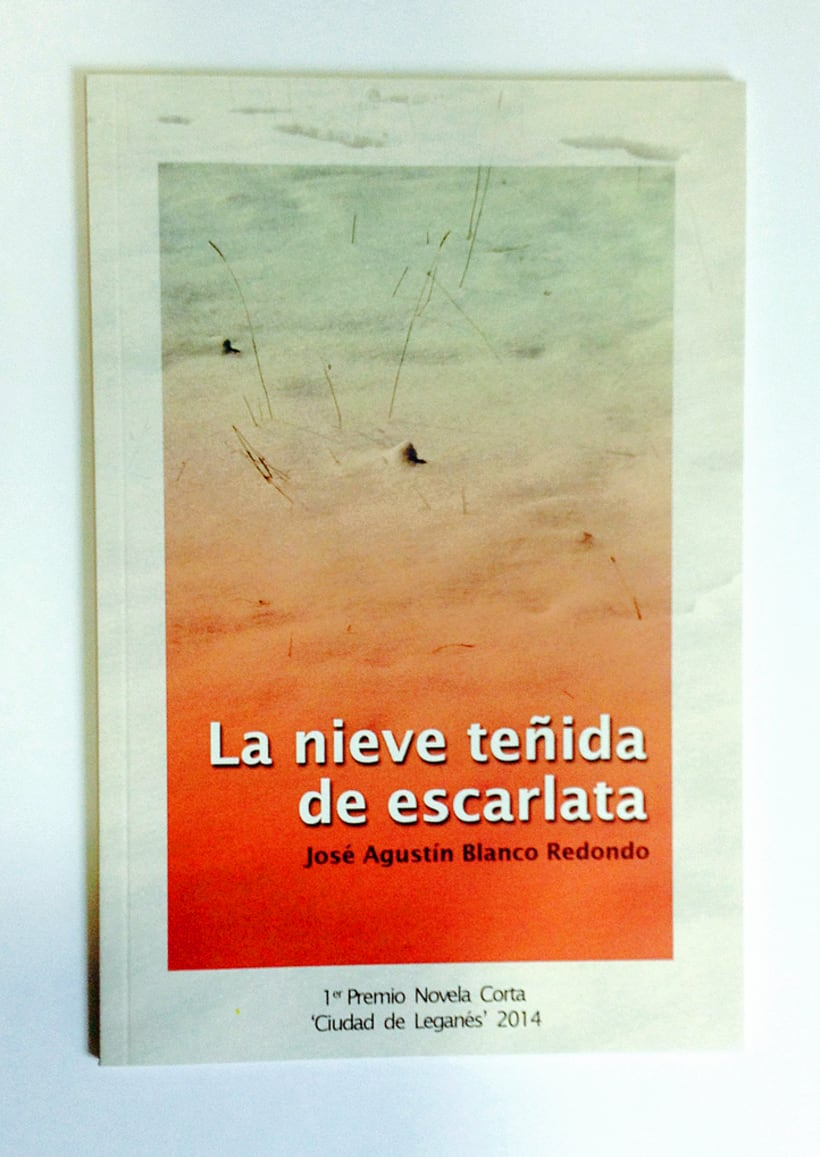 """Diseño y maquetación del: Primer Premio de Novela Corta """"Ciudad de Leganés"""" -1"""